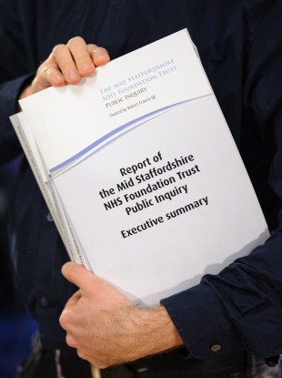 Robert Francis QC's report on the Mid-Staffordshire NHS Foundation Trust.