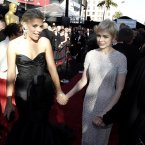 BUSY PHILLIPS AND MICHELLE WILLIAMS:  These two have been matesos since Busy joined the cast of Dawson's Creek.  Busy was constantly at Michelle's side in he aftermath of Heath Ledger's death and has said she loves her