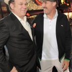 WILL FERRELL AND JOHN C. REILLY:  John says no one can make him laugh like Will can.  We say John's a lucky man.  That's a pair we'd like to go for a drink with.  Jordan Strauss/AP/Press Association Images
