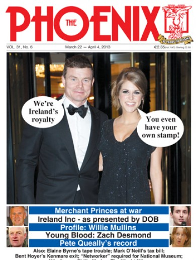 Looks like we've made it… BOD and Hubes on the cover of this week's Phoenix