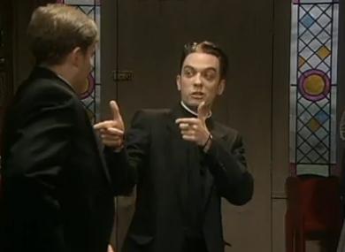 Rooney as Fr Damo.