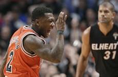 VIDEO: Heat's streak goes cold as Bulls run wild