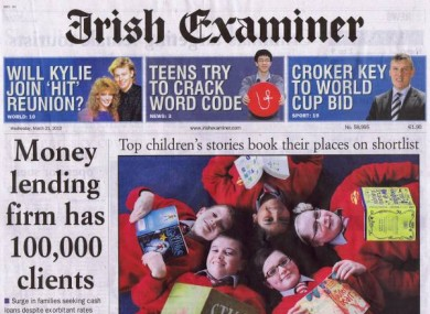 The Irish Examiner has been bought by a new firm set up by the Crosbie family, after the existing parent company entered receivership.