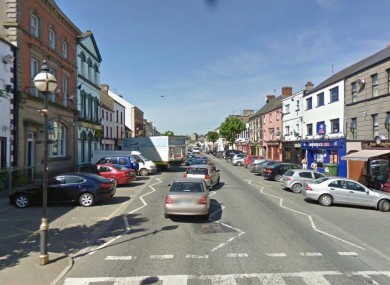 File image of Main Street Castleblayney.