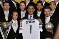 Robbie Keane to miss White House 'family reunion' with Obama