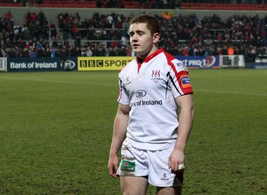 Ulster's Paddy Jackson after the game.