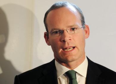 Minister for Agriculture Simon Coveney.