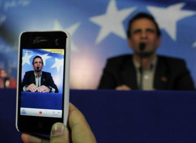 Henrique Capriles will run in elections to replace late President Hugo Chavez.