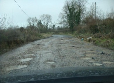 The R164 between Moynalty, Co Meath and Kingscourt, Co Cavan.