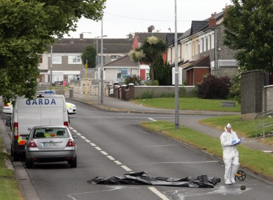 The scene of the stabbing in Finglas four years ago.