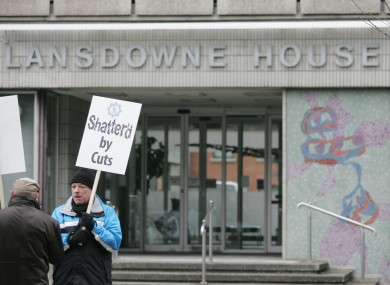 Lansdowne House, where negotiations on the pay deal took place.