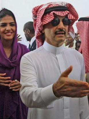 Prince Al-Waleed bin Talal is worth an estimated $20 billion - making him the Arab world's richest man.