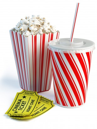 Image result for cinema popcorn