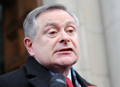 Minister for Public Expenditure and Reform, Brendan Howlin (file photo)