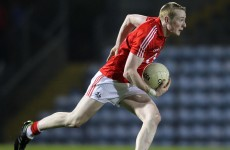 Cork captain Cahalane eyes All Ireland U21 football prize