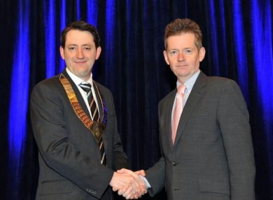 Dr Sadlier and Dr McKeown