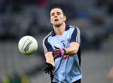 Kevin O'Brien has been named in the Dublin starting lineup for this Sunday's game.