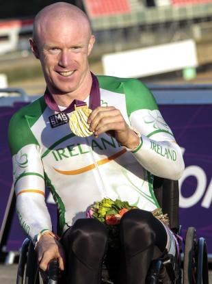 Mark Rohan at last year's Paralympics.