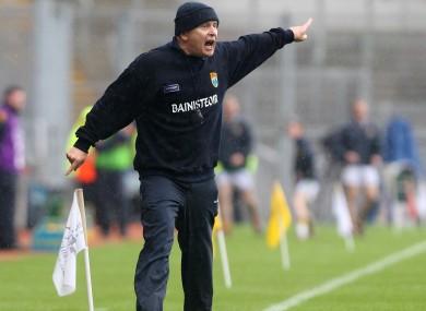 Kerry minor boss Mickey Ned O'Sullivan.