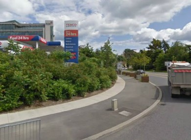 The service station at Dundrum Town Centre, close to where Declan Devereux went missing (File photo)