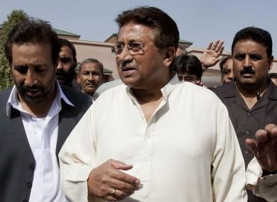 Pakistan's former President and military ruler Pervez Musharraf.
