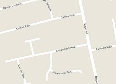 Stroanshesk Park in Ballycastle, Co Antrim.