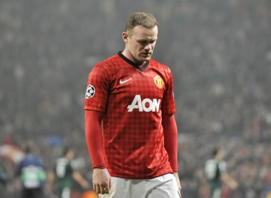 Wayne Rooney could soon be leaving Manchester United.