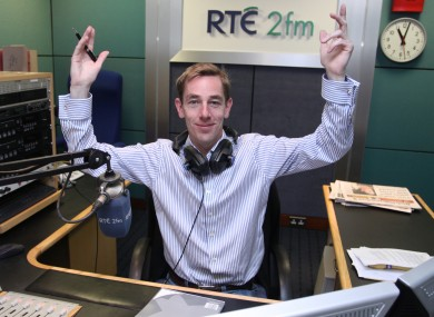 Radio figures showed today that Tubridy has lost 1,000 listeners but the station says it shows a loyal audience.