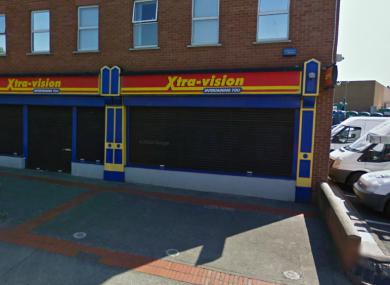 An Xtra-vision shop in Dublin