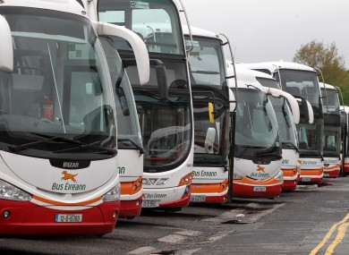 The national bus network came to a virtual standstill during the two-day NBRU strike earlier this month.