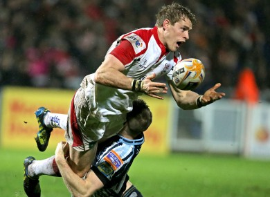 Andrew Trimble scored two tries for Ulster.