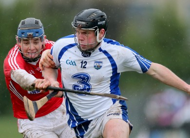 Waterford's Jake Dillon in action against Cork.