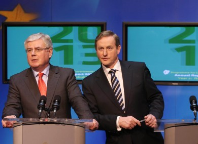 Eamon Gilmore and Enda Kenny will need to decide on a common strategy if either party's backbenchers begin tabling amendments to the draft abortion laws.