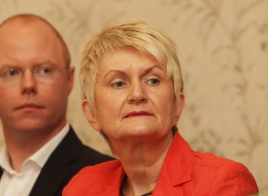 Marian Harkin with Independent TD Stephen Donnelly last year.
