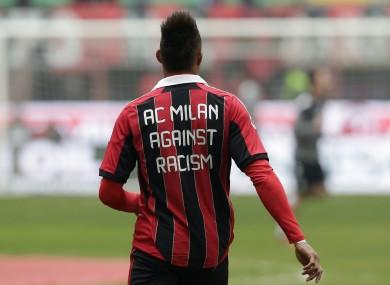 AC Milan's Kevin Prince Boateng.