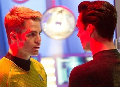 James T Kirk squares off against intergalactic spy John Harrison.