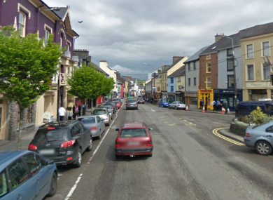 File photo of Macroom in Co Cork. The fatal house fire occurred at Kilavoultra outside the town.