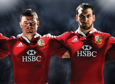 Brian O'Driscoll is an adidas ambassador and has been selected for the British & Irish Lions squad. The Lions shirt is available from adidas.ie and Elverys stores nationwide. Join the conversation @adidasUK.