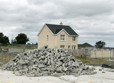Ghost estate, Portlaoise