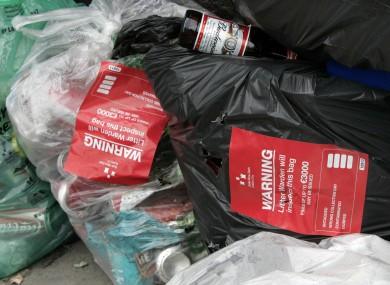 Illegal rubbish dumped in Dublin