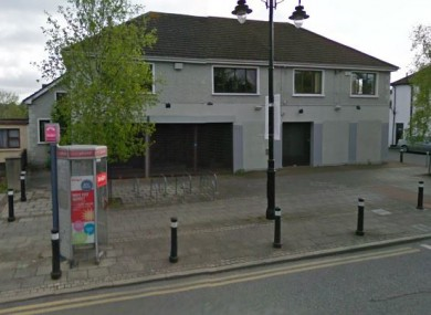 The former AIB building on Blanchardstown Main St