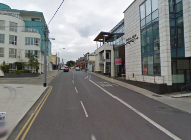The stabbing happened at an apartment on Clarence St, Dun Laoghaire.