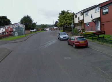 Glenveagh Drive in west Belfast