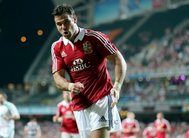 Mike Phillips starred in the 2009 Lions Tour.
