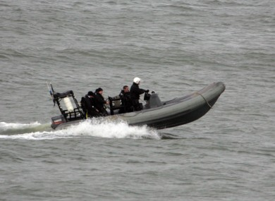 File photo of a Naval Service search vessel