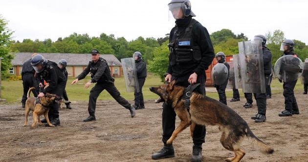 PHOTOS: PSNI undergo riot training ahead of G8 summit