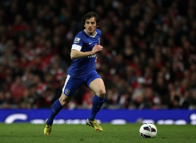 Baines was praised for his performances at Everton last season.
