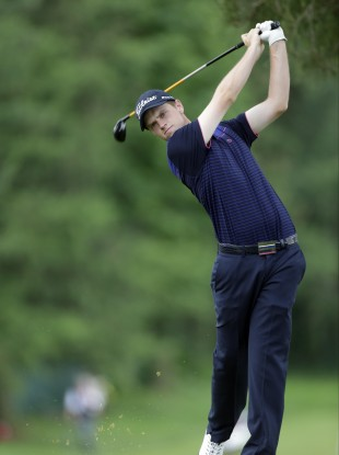 Kevin Phelan in action during the US Open.