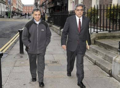 Ashoka Mody with the IMF's Ajai Chopra