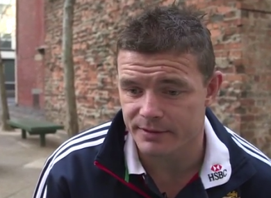 Brian O'Driscoll is set to captain the Lions.
